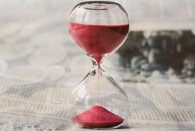 Le temps s'écoule